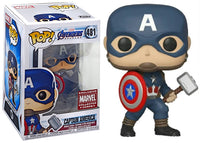 Captain America (w/Mjolnir, Endgame) 481 - Marvel Collector Corps Exclusive  [Condition: 9/10]
