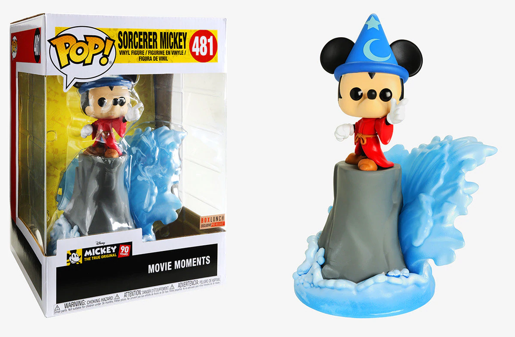 Sorcerer Mickey (Movie Moments) 481 - Box Lunch Exclusive Pre-Release  [Damaged: 7/10]