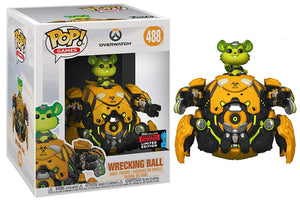 Wrecking Ball (Biohazard, 6-inch, Overwatch) 488 - 2019 Fall Convention Exclusive [Damaged: 7.5/10]
