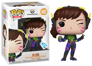 D.VA (Nano Cola, Overwatch) 492 - Insider Club Exclusive  [Damaged: 7/10]
