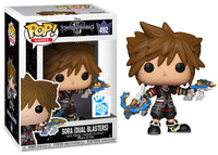 Sora (Duel Blasters, Kingdom Hearts) 492 -  Funko Insider Club Exclusive  [Damaged: 7.5/10]