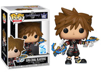 Sora (Dual Blasters, Kingdom Hearts) 492 - Funko Insider Club Exclusive  [Damaged: 7/10]