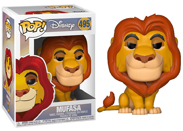 Mufasa (Lion King) 495  [Damaged: 7/10]