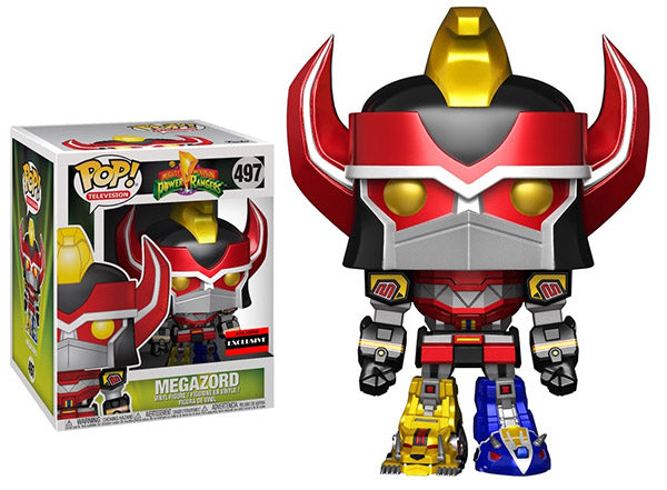 Megazord (6-Inch, Metallic, Power Rangers) 497 - AAA Anime Exclusive  [Damaged: 7.5/10]