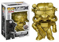 Power Armor (Gold, Fallout) 49 - GameStop Exclusive  [Condition: 7.5/10]