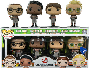 Abby Yates, Patty Tolan, Erin Gilbert & Jillian Holtzmann (Ghostbusters) 4-Pack - FYE Exclusive [Damaged: 7/10]