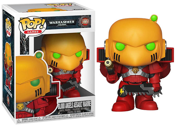 Blood Angels Assault Marine (Warhammer 40,000) 500  [Damaged: 7.5/10]