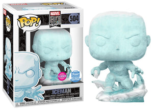 Iceman (Flocked, First Appearance) 504 - Funko Shop Exclusive  [Damaged: 7.5/10]