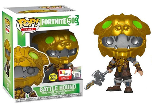 Battle Hound (Glow in the Dark, Fortnite) 509 - 2019 E3 Exclusive