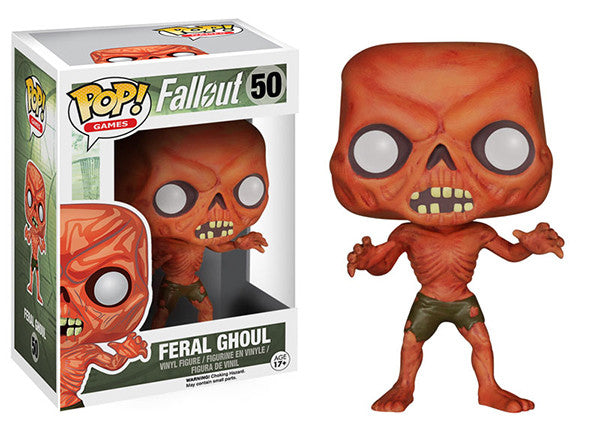 Feral Ghoul (Fallout) 50 Pop Head
