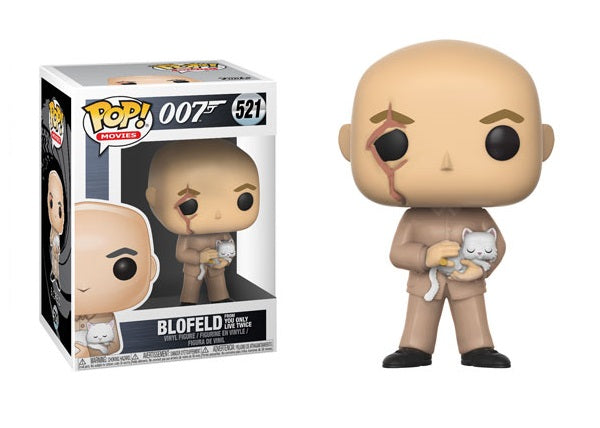 Blofeld (You Only Live Twice, 007) 521  [Damaged: 7.5/10]