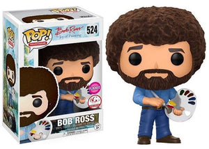 Bob Ross (Flocked, The Joy of Painting) 524 - Big G Creative Exclusive  [Damaged: 7.5/10]