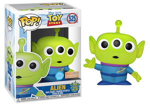 Alien (Glitter, Transulcent, Toy Story 4) 525 - BoxLunch Exclusive  [Damaged: 6.5/10]