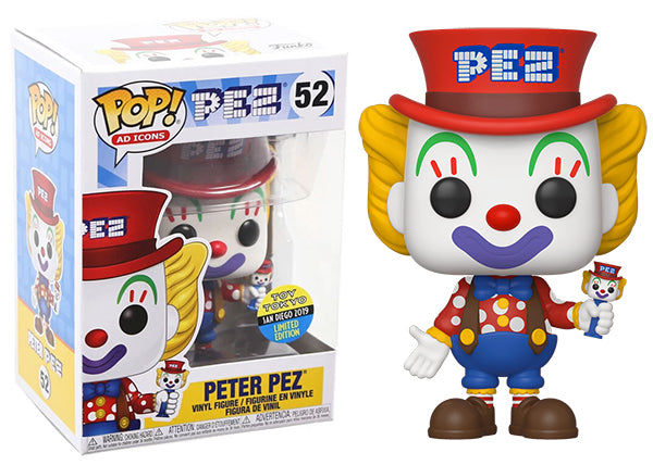 Peter Pez (Ad Icons) 52 - 2019 Toy Tokyo/ SDCC Exclusive  [Damaged: 7.5/10]
