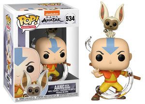 Aang w/ Momo (Avatar) 534 [Damaged: 7.5/10]