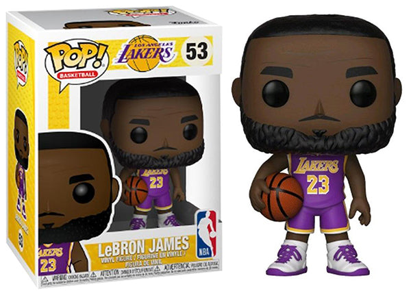 Lebron James (Purple Jersey, Lakers, NBA) 53  [Damaged: 7.5/10]