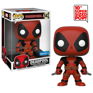 Deadpool (Red, Two Swords, 10-Inch) 543 - Walmart Exclusive