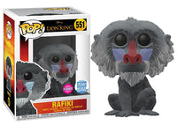 Rafiki (Flocked, Live Action, The Lion King) 551 - Funko Shop Exclusive