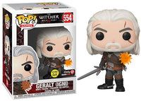 Geralt (Igni, Glow in the Dark, The Witcher 3) 554 - GameStop Exclusive [Damaged: 7/10]