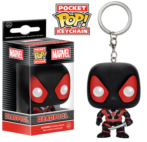 Pocket Pop Keychain Deadpool (Inverse)
