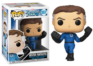 Mister Fantastic (Fantastic Four) 557 [Damaged: 7/10]