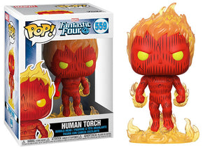 Human Torch (Fantastic Four) 559 [Damaged: 7.5/10]