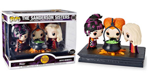 The Sanderson Sisters (w/ Cauldron, Movie Moments) 560 - Spirit Halloween Exclusive  [Condition: 7/10]