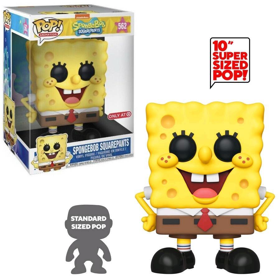 Spongebob Squarepants (10-Inch, Ad Icons) 562 - Target Exclusive  [Damaged: 7.5/10]