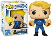 Human Torch (Glow in the Dark, Fantastic Four) 568 - Specialty Series Exclusive
