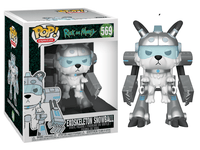 Exoskeleton Snowball (6-inch, Rick & Morty) 569  [Damaged: 7.5/10]