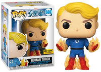 Human Torch (Glowing, Fantastic Four) 569 - Hot Topic Exclusive [Damaged: 7/10]