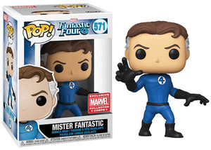 Mister Fantastic (Stretched, Fantastic Four) 571 - Collector Corps Exclusive [Damaged: 7.5/10]