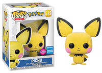 > Pichu (Flocked, Pokemon) 579 - 2020 Wondrous Convention Exclusive