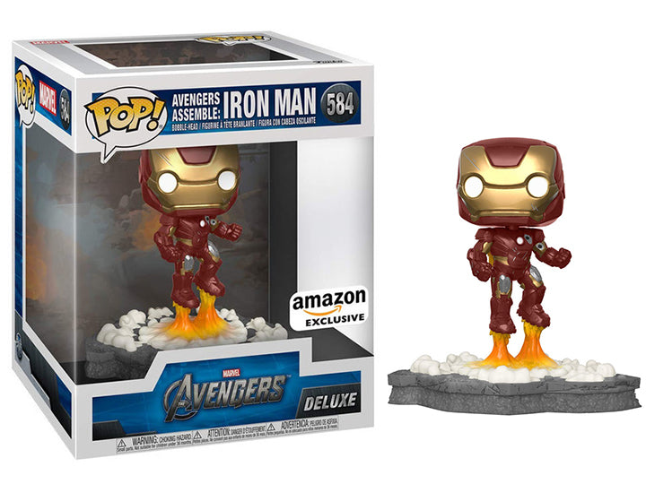Avengers Assemble: Iron Man (Deluxe, Avengers) 584 - Amazon Exclusive [Condition: 9/10]