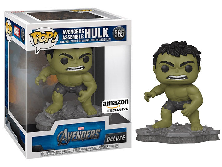 Avengers Assemble: Hulk (Deluxe, Avengers) 585 - Amazon Exclusive  [Condition: 8/10]