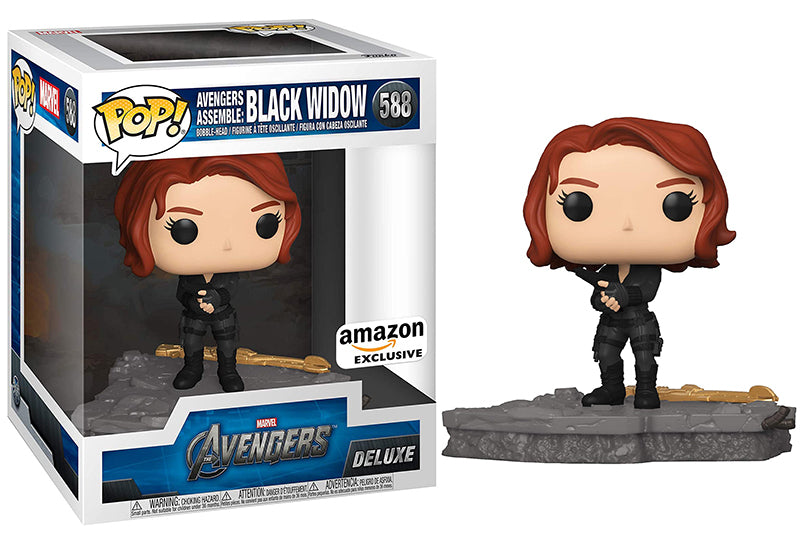 Avengers Assemble: Black Widow (Deluxe, Avengers) 588 - Amazon Exclusive  [Condition: 7.5/10]