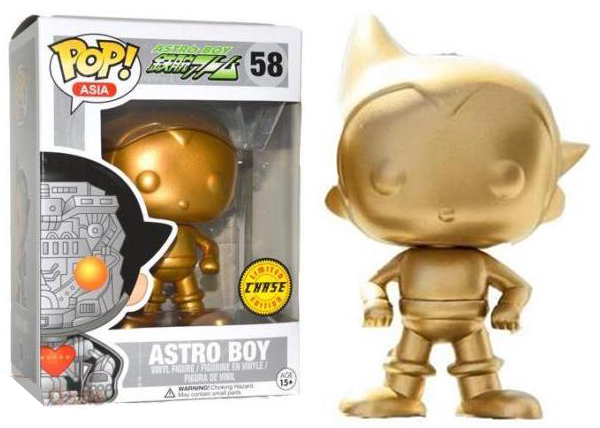 Astro Boy (Gold) 58 **Chase**  [Damaged: 5/10]