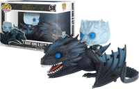 Night King & Icy Viserion (Rides, Glow in the Dark, Game of Thrones) 58  [Damaged: 6/10]