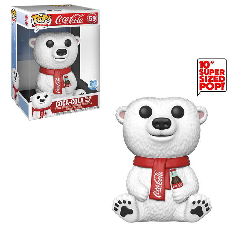> Coca-Cola Polar Bear (10-Inch, Ad Icons ) 59 - Funko Shop Exclusive