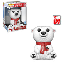 Coca-Cola Polar Bear (10-Inch, Ad Icons ) 59 - Funko Shop Exclusive  [Damaged: 7/10]