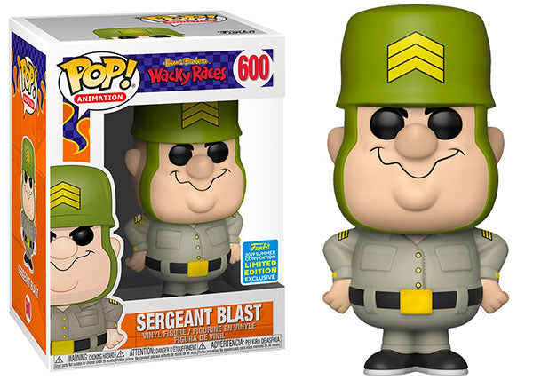 Sergeant Blast (Wacky Races) 600 - 2019 Summer Convention Exclusive [Damaged: 7.5/10]