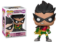 Robin (The Night Begins to Shine, Teen Titans Go!) 606  [Damaged: 6/10]