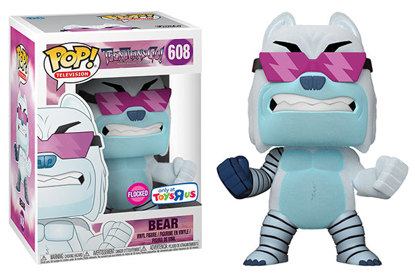 Bear (Flocked, The Night Begins to Shine, Teen Titans Go!) 608 - Toys R Us Exclusive