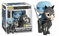 Mounted White Walker (Rides, Glow in the Dark, Game of Thrones) 60 - Amazon Exclusive [Damaged: 7/10]