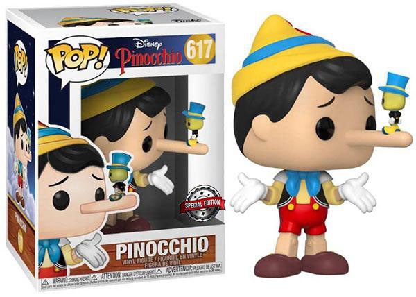 > Pinocchio (Lying) 617 - Special Edition Exclusive