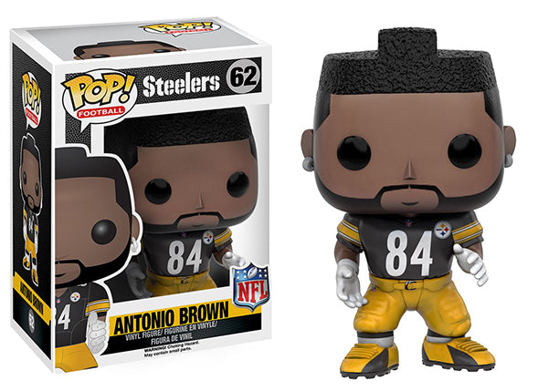 Antonio Brown (Wave 3, Pittsburgh Steelers, NFL) 62  [Damaged: 7/10]