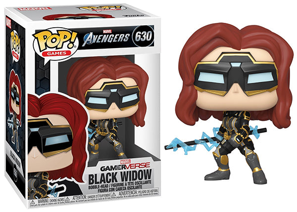 Black Widow (Gamerverse, Avengers Game) 630  [Damaged: 7.5/10]