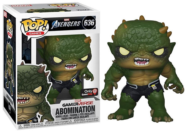 Abomination (Gamerverse, Avengers Game) 636 - GameStop Exclusive  [Damaged: 7.5/10]