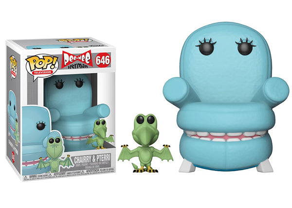 Chairry & Pterri (Pee-Wee Herman) 646  [Damaged: 7.5/10]