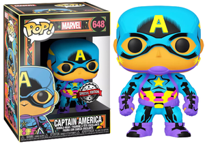 > Captain America (Black Light) 648 - Special Edition Exclusive